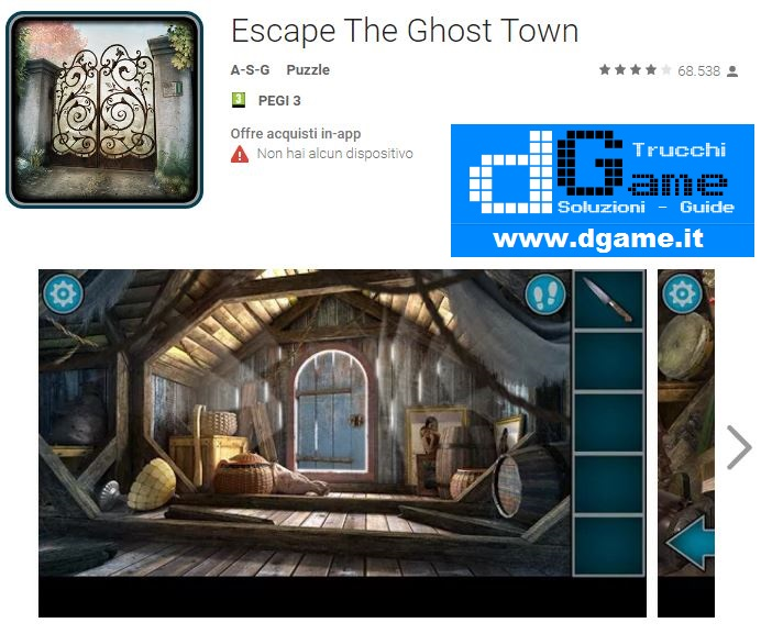 Soluzioni Escape The Ghost Town di tutti i livelli | Walkthrough guide
