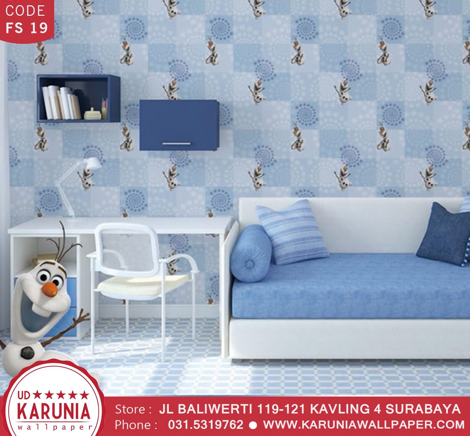 jual wallpaper frozen karuniawallpaper surabaya