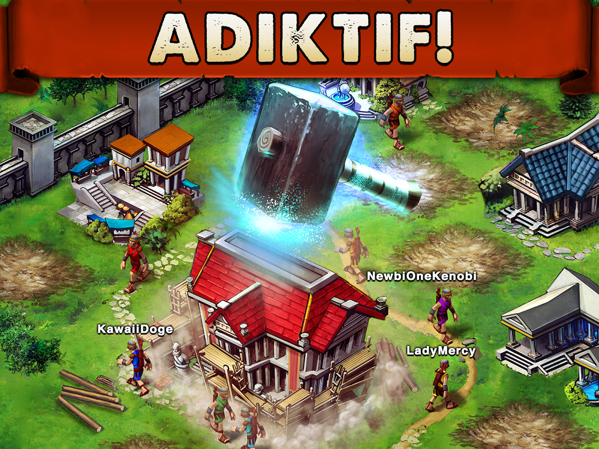 Permainan Strategi Android Game of War - Fire Age