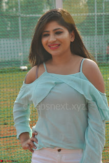 Madhulagna Das looks super cute in White Shorts and Transparent Top 65.JPG