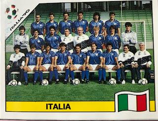 Figurina italia Italia 90