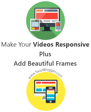 Make Embedded Videos Responsive and Add Responsive Frames