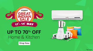 Amazon Great Indian Sale Offers 11-14 May 2017
