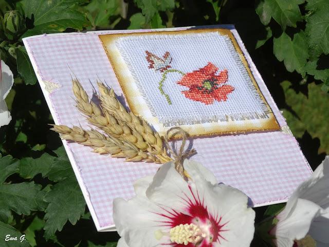 Kwiatowa wymianka kartkowa - maki