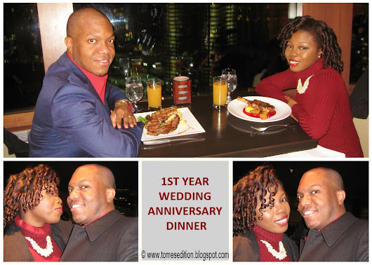 Our 1st Wedding Anniversary…