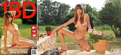 Alise Alanis - 1By-Day - Striptease - Sep 02, 2014