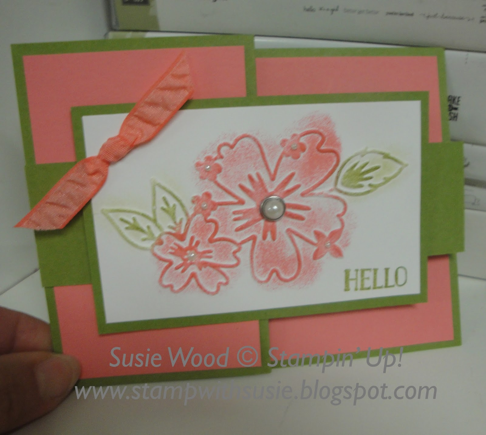 Stamp With Susie Its A Z Fold Card With A Twist