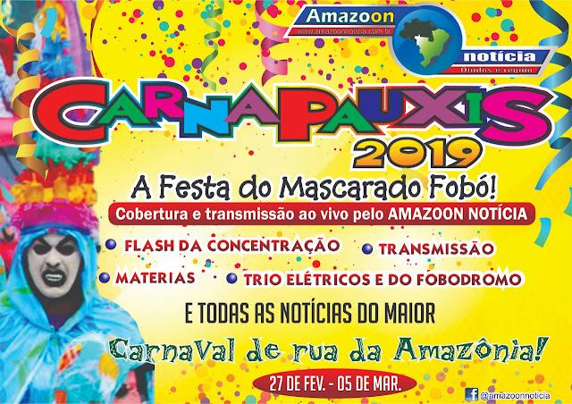Agora bloco Vai Ou Raxa abre o Carnapauxis Oficial 2019
