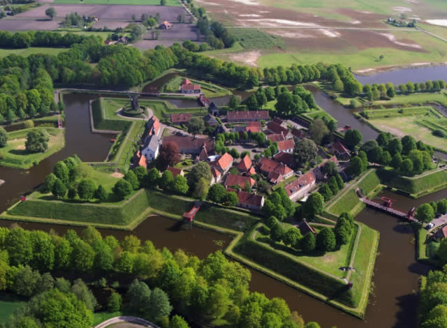 Fort Bourtange - Groningen, The Netherlands