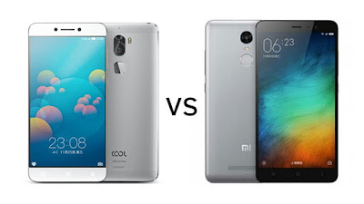 Coolpad Cool 1 vs Xiaomi Redmi Note 3