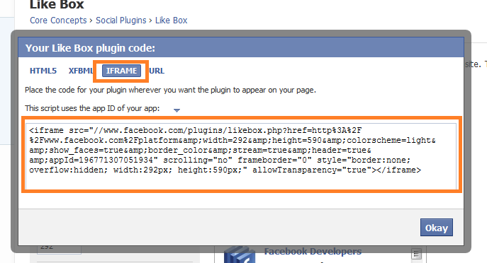 Stylize Facebook Like Box With CSS3 Border