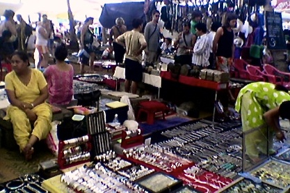 Anjuna Flea Market 2005
