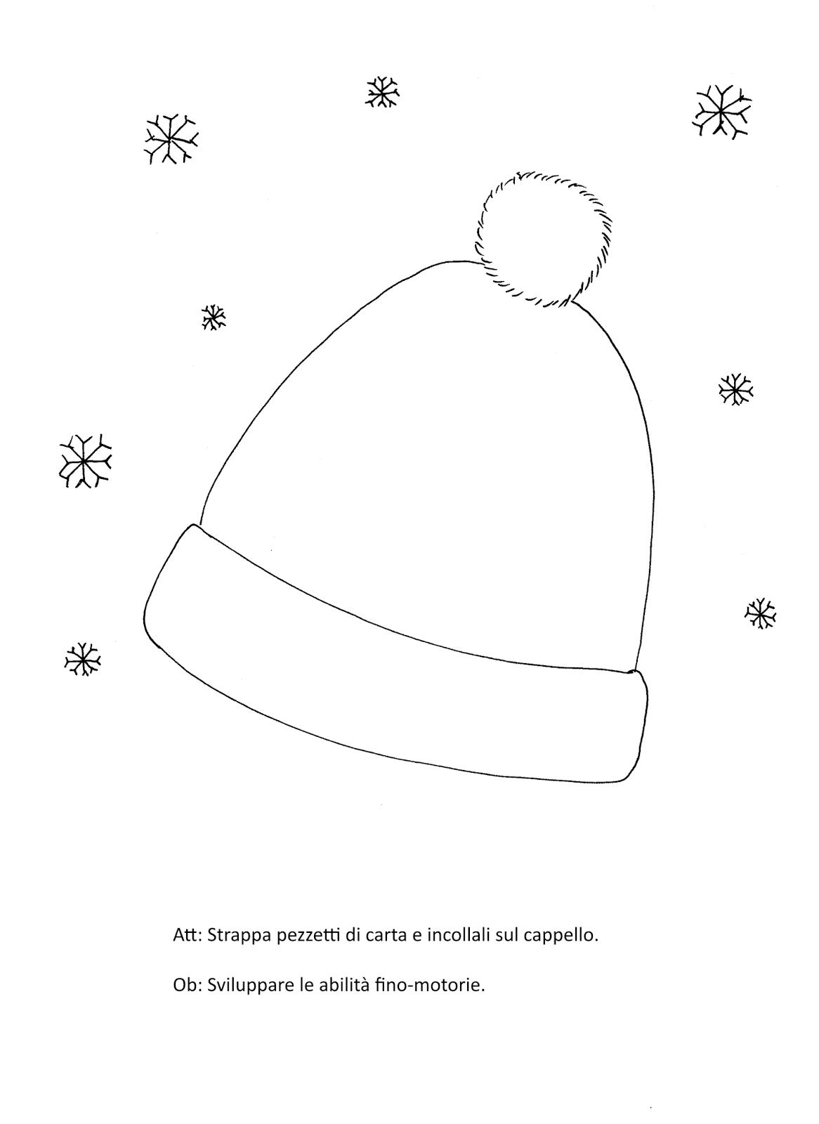 La maestra linda inverno indumenti for Schede didattiche scuola infanzia 3 anni