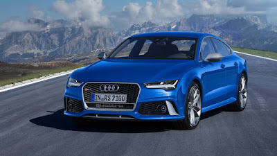 Audi RS7 Performance Blue image