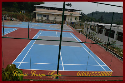 jasa pengecatan lapangan tenis
