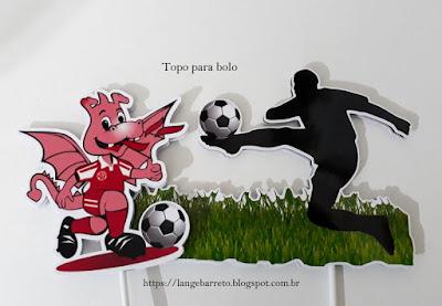 Topo para bolo América Futebol Clube
