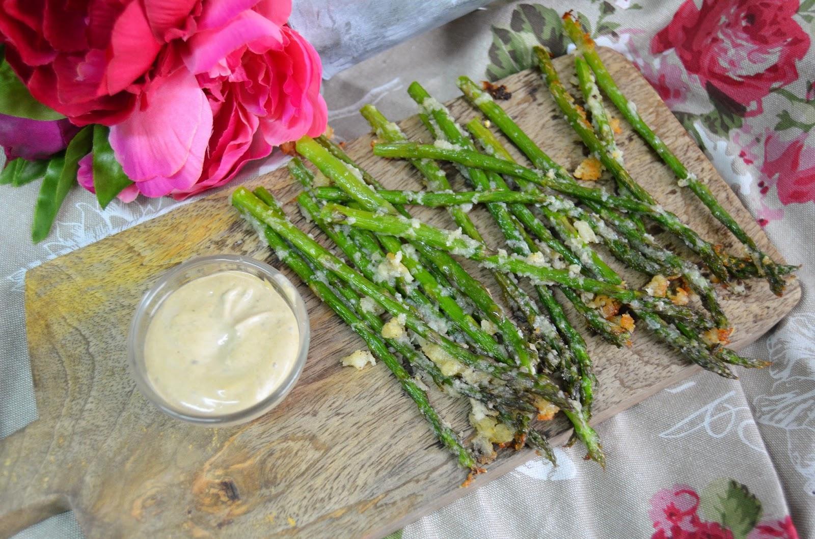 Las delicias de mayte esparragos verdes al horno for Cocinar esparragos