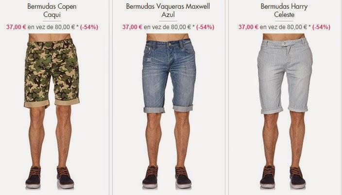 Bermudas para hombre