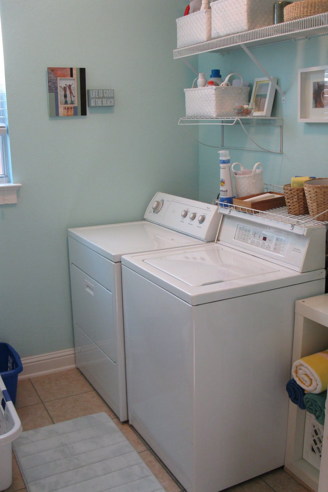 Skirting The Issues Before Amp After The Laundry Room