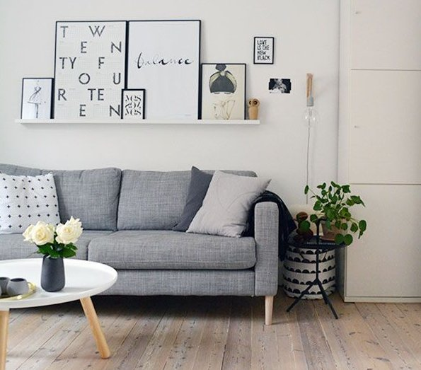 Best Of The Week 9 Instagrammable Living Rooms: Pinspiration: Clean, Fresh Living Room