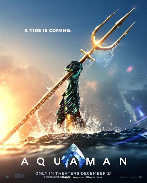 """Nuevo póster de """"Aquaman""""."""