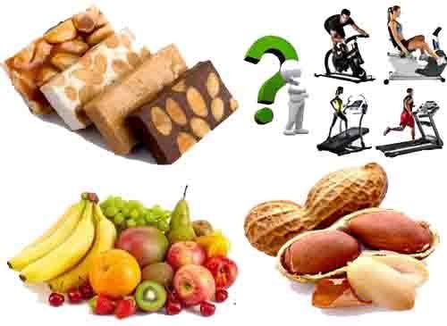 Ejemplos de alimentos que debes comer antes de hacer cardio