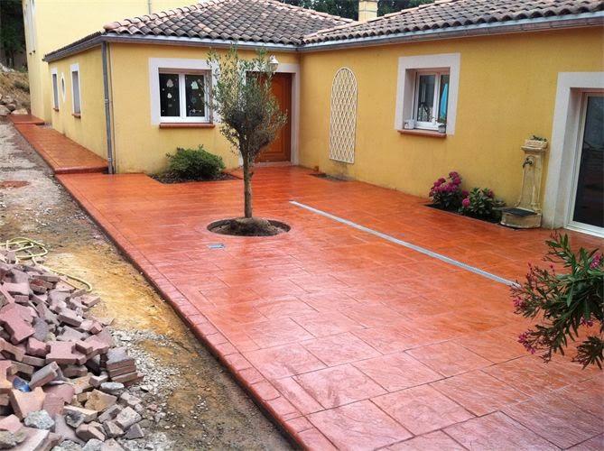 Hormigon impreso ontinyent pavimentos impreso en ontinyent for Hormigon pulido valencia