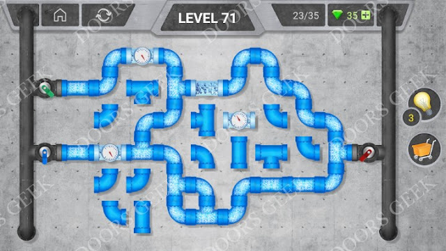 Pipeline [Classic] Level 71 Solution, Cheats, Walkthrough