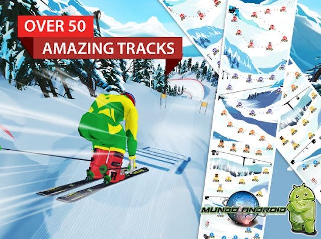 Jugabilidad de FRS Ski Cross