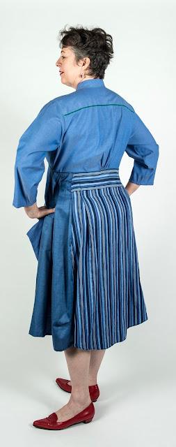 Paganoonoo Michelle Dress #Upcycled fashion