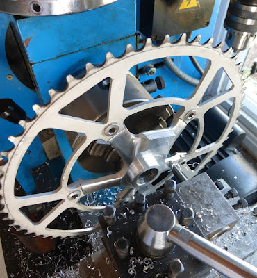 turning crank arm