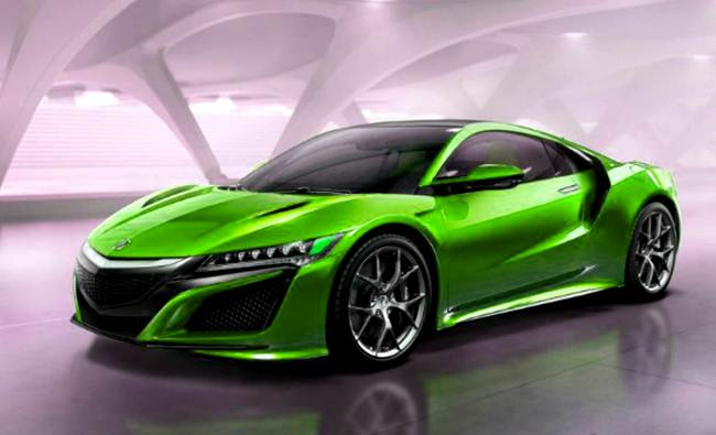 New Cars Acura NSX