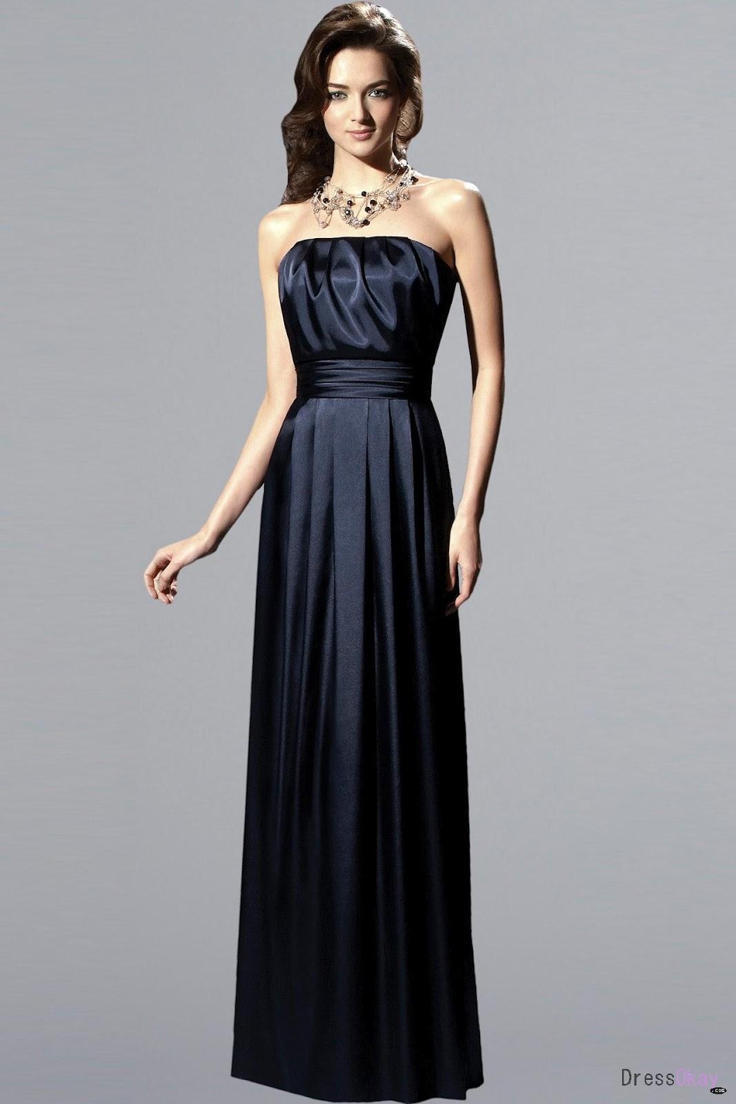 Bridesmaids Gowns: Midnight Blue Bridesmaid Dresses