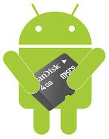 spostare app su sd android
