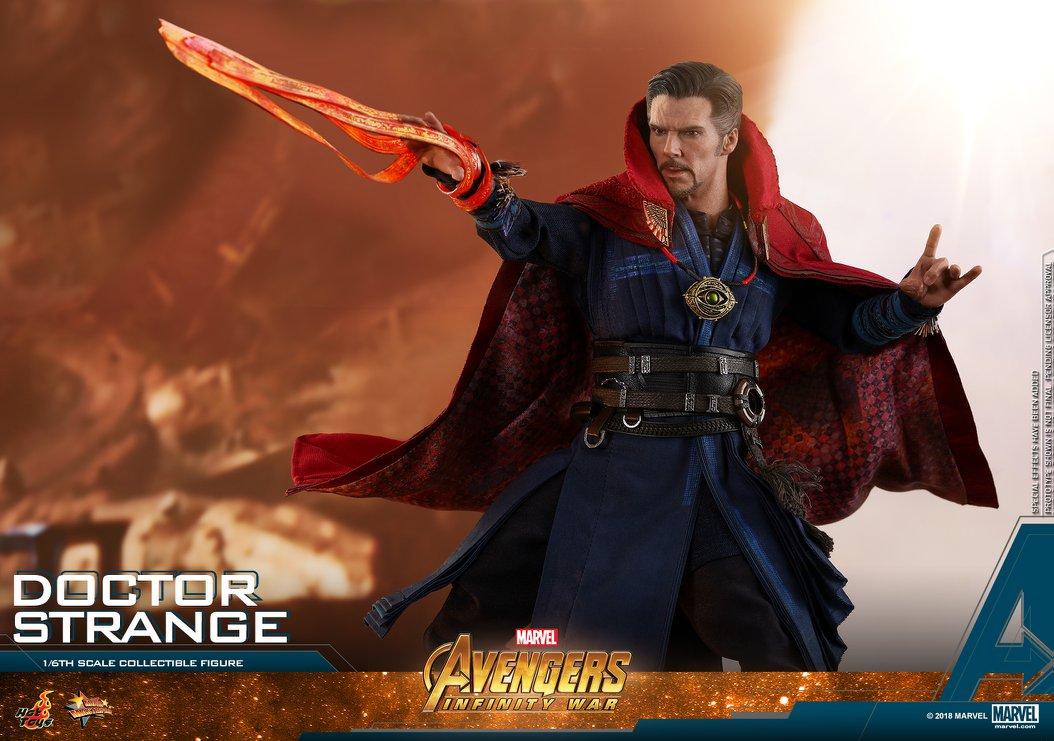 Hot Toys Avengers Infinity War Doctor Strange 1//6 Battle Mystic Effect  MMS484