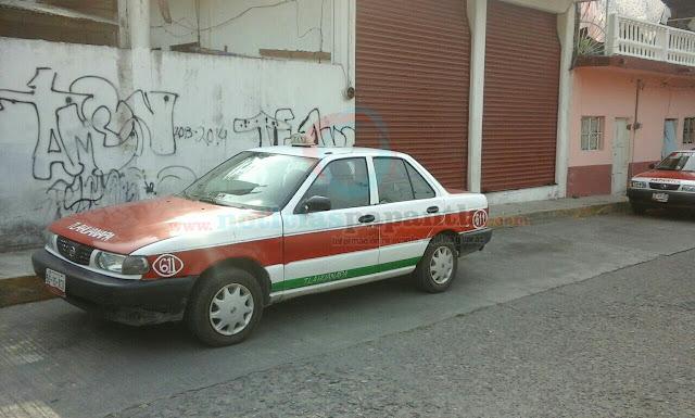 Noticias papantla desconocidos roban un taxi frente a conocida funeraria fue recuperado frente - Oficina municipal del taxi ...