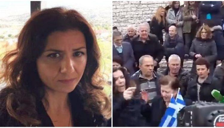 Ξέσπασμα αδελφής Κατσίφα κατά των αλβανικών αρχών: «Ντροπή να προσβάλουν έτσι την ιστορία μας»