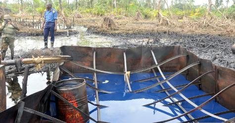 Illegal Refineries Destroyed