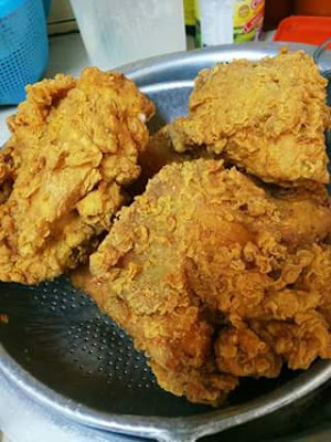 Resepi Ayam Goreng KFC Homemade Dari Oh!Media