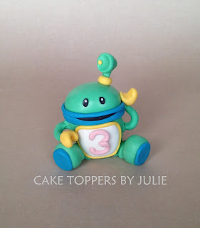 Umizoomi Bot Cake Topper Tutorial