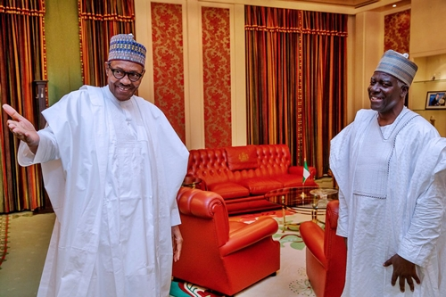 'Have We Ever Met Before'? - Buhari Asks New DG Of DSS During Meeting