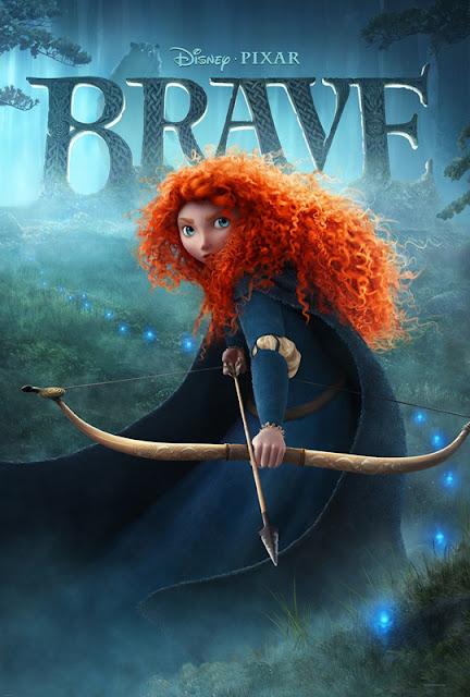 Cartel película de Pixar Animation Studios Brave