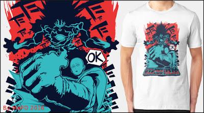One Punch Man+camiseta+regalo+latostadora.com+comprar+online