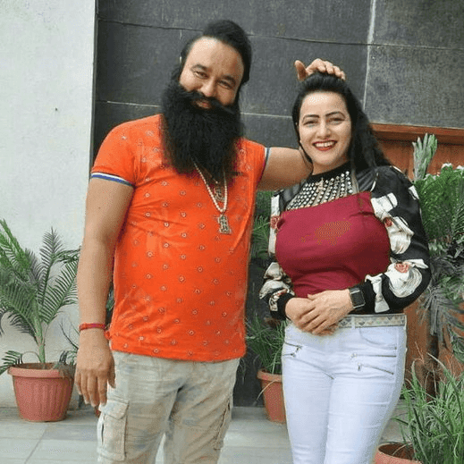 Gurmeet Ram Rahim Insan With Honeypreet Insan Dera Sacha Sauda Sirsa HD Wallpaper Picture & Photo