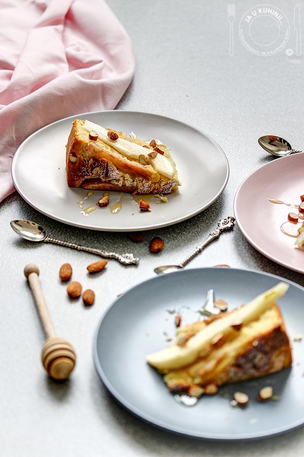 Pear Olive Oil Cake