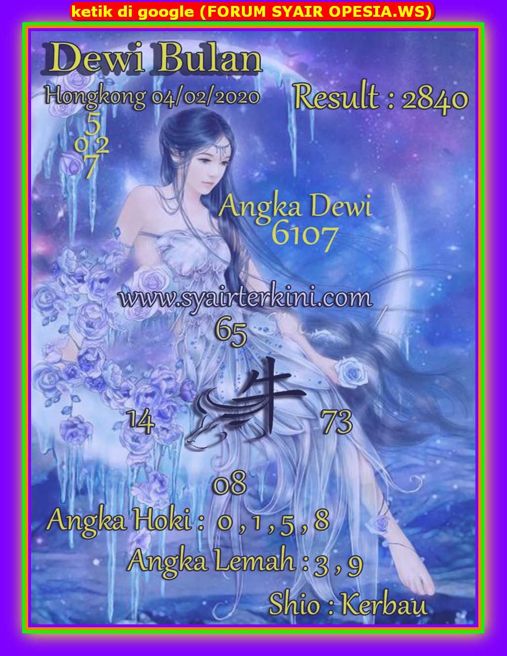 Kode syair Hongkong Selasa 4 Februari 2020 76