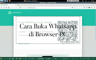 cara buka whatsapp di browser pc