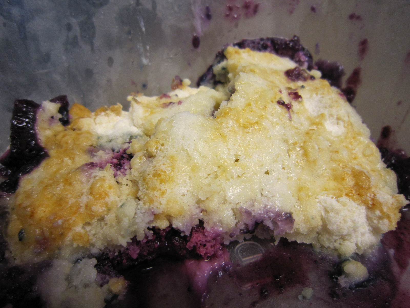 I Ate My Berry Cobbler With A 1 2 Cup Of No Sugar Added Blue Bell Country Vanilla Ice Cream It Was So Good