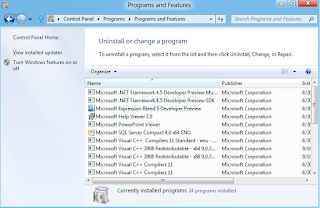 Cara Uninstall Program di Windows 7 dan 8