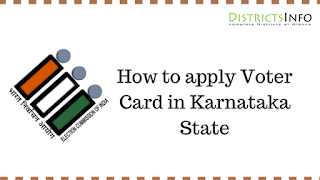 How to apply Voter Card in Karnataka State